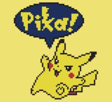 Pika Pikachu - Pokemon Yellow Version Kids Clothes