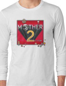 Alternative Mother 2 / Earthbound Title Screen Long Sleeve T-Shirt