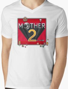 Alternative Mother 2 / Earthbound Title Screen Mens V-Neck T-Shirt