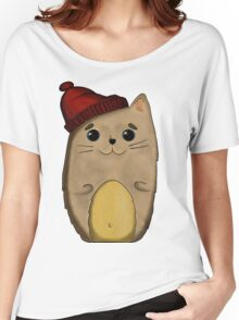 Cat in the red cap Women's Relaxed Fit T-Shirt