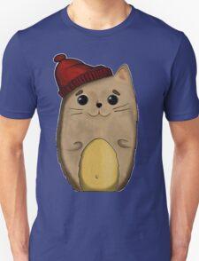 Cat in the red cap Unisex T-Shirt
