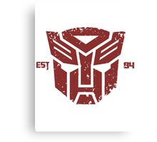 Legendary Autobots Canvas Print