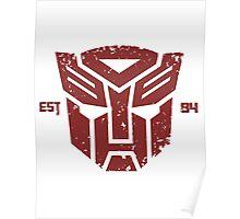 Legendary Autobots Poster