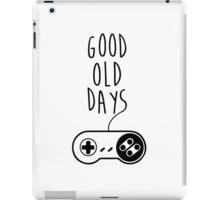 Good old days iPad Case/Skin