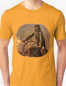 Down to the Sea Slogan T-Shirt