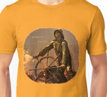 Down to the Sea Slogan Unisex T-Shirt