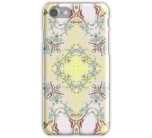 The pattern №4 with many details iPhone Case/Skin