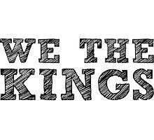 We The Kings Unofficial Photographic Print