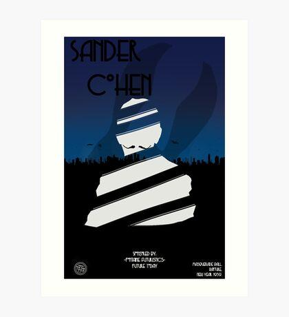 Sander cohen full Art Print