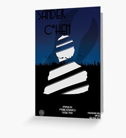 Sander cohen full Greeting Card
