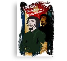 Revolution - Che Canvas Print