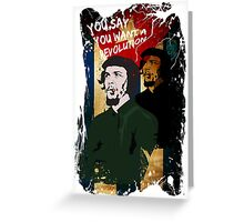 Revolution - Che Greeting Card