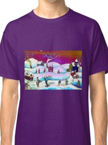 A winter scene Classic T-Shirt
