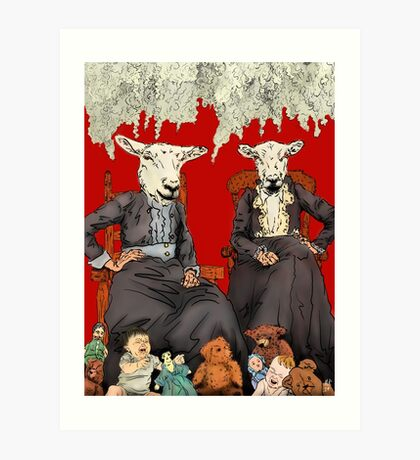 We'll Knit You Something Nice Art Print