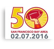 Super Bowl 50 Canvas Print
