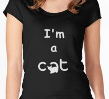I am a cat Women's Fitted Scoop T-Shirt