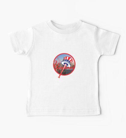 New York Yankees NYC Logo Baby Tee