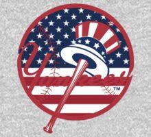 New York Yankees Flag Logo One Piece - Short Sleeve