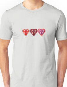 Folk Hearts Unisex T-Shirt