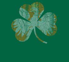 Vintage Irish Polish Heritage Shamrock T-Shirt