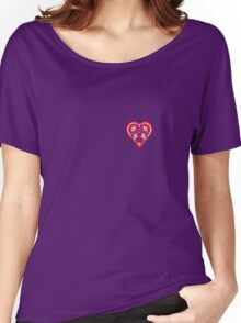 Folk Heart 3 Women's Relaxed Fit T-Shirt