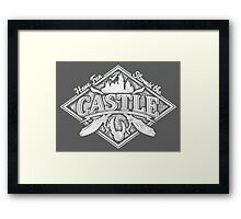 Stormin the Castle Framed Print
