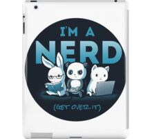 Cute - Nerd - Panda - Cat - Bunny  iPad Case/Skin