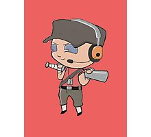 TF2 Chibi - Red Scout Photographic Print
