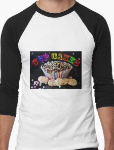 Cup Cakes Men's Baseball ¾ T-Shirt