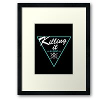 Killing It All Night (League of Legends) ADC Framed Print