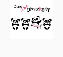 Be different, Cute Panda in various poses Unisex T-Shirt