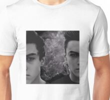 Dolan twins black and white with smoke Unisex T-Shirt