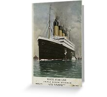 The RMS Olympic Greeting Card