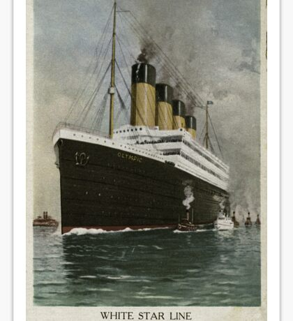 The RMS Olympic Sticker