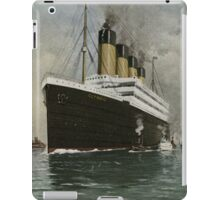 The RMS Olympic iPad Case/Skin