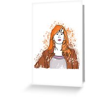 The most important woman in the Universe Greeting Card
