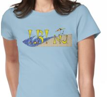 Long Beach Island LBI NJ 2 Womens Fitted T-Shirt