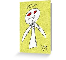 """""""Evil Angel (Cooked)"""" by Richard F. Yates Greeting Card"""