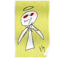 """""""Evil Angel (Cooked)"""" by Richard F. Yates Poster"""