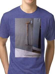 Laphroaig: The Grain Fork Tri-blend T-Shirt