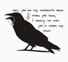 Well You're My Favourite Bird Kids Tee