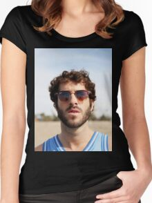 Lil Dicky Women's Fitted Scoop T-Shirt