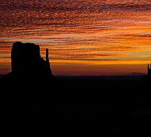 Mittens At Sunrise by Lucinda Walter