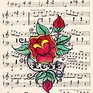 Love Flower tattoo by Andy  Housham