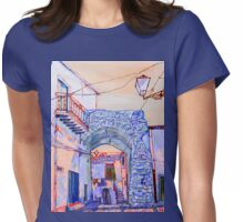 Sicilian archway Womens Fitted T-Shirt