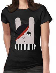 Emo Bunny Womens Fitted T-Shirt