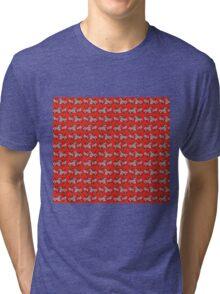 Margot Tenenbaum's Wallpaper Tri-blend T-Shirt