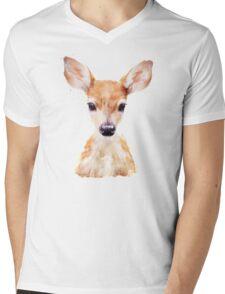 Little Deer Mens V-Neck T-Shirt