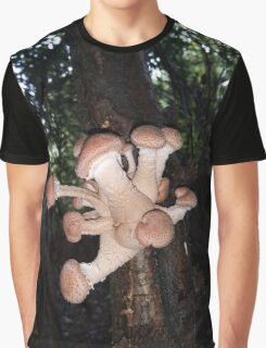 Alien mushrooms Graphic T-Shirt