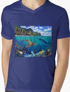 Bali Hai Reef Mens V-Neck T-Shirt